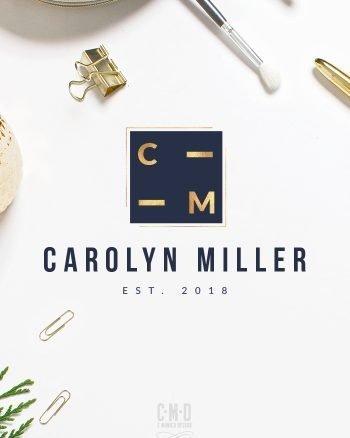 A-Professional-and-Contemporary-Logo-Design-via-this-Pre-Made-Branding-Kit-from-C-Monica-Design-Studio