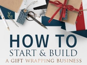 Pretty Present start your own gift wrap business eBook download