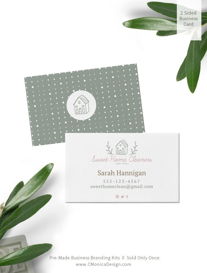 Sweet-Home-Cleaners-Business-Card-Design-via-this-Pre-Made-Branding-Kit